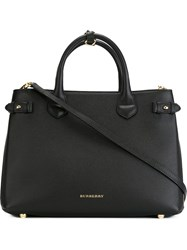 Burberry Large 'Banner' Tote Black
