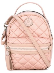 Moncler Backpack Style Cross Body Bag Pink Purple