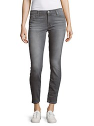 7 For All Mankind Faded Slim Fit Jeans Grey