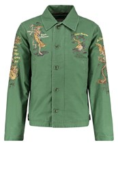 Deus Ex Machina Barmy Deck Summer Jacket Pine Dark Green