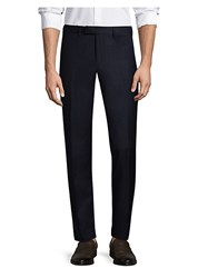 J. Lindeberg Grant Wool Blend Pants Mid Blue