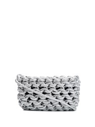 Alienina Braided Bag Silver
