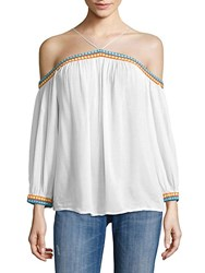 Piper No Doubt Off The Shoulder Top White