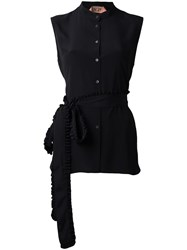 N 21 No21 Sleeveless Shirt Black