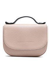 Brunello Cucinelli Bead Embellished Textured Leather Tote Pastel Pink