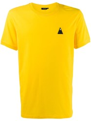 J. Lindeberg J.Lindeberg Bridge Embroidered Logo T Shirt Yellow