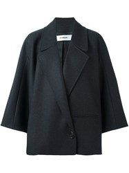 Chalayan Wide Collar Jacket Grey