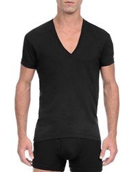2Xist Slim Fit Pima Cotton Tee Black