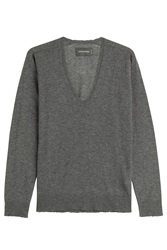 Zadig And Voltaire Cashmere Pullover Grey