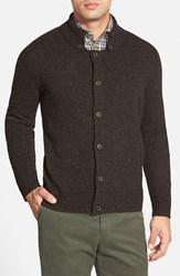 Men's Maker And Company Marled Button Front Cardigan Black Caviar
