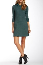 Vfish Dame Hooded Sweater Dress Green