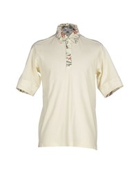 Y 3 Topwear Polo Shirts Men Beige