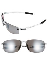 Men's Revo 'Descend N' 64Mm Polarized Sunglasses Crystal Graphite