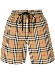 Burberry Vintage Check Shorts Multicolour