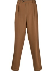Lc23 Regular Fit Tailored Trousers Brown