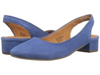 Seychelles Electric Blue Suede Women's 1 2 Inch Heel Shoes