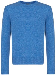 Prada Crew Neck Sweater Blue