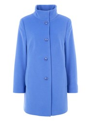 Basler Wool Coat With Cashmere Blue