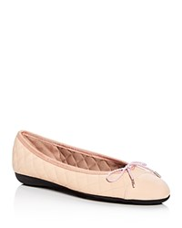 Paul Mayer Best Quilted Ballet Flats Blush