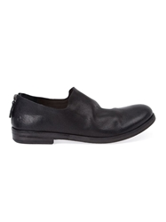 Marsell Marsell Back Zip Slip On Shoes Black