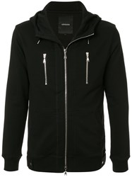 Loveless Kangaroo Pockets Hoodie Black