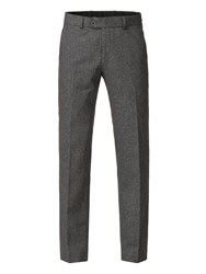 Aston And Gunn Arrow Grey Heritage Donegal Trouser Grey