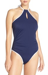 Freya Women's 'In The Navy' Underwire One Piece Swimsuit Marine