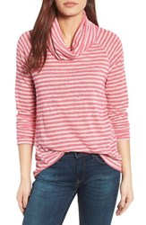 Gibson Women's Raglan Sleeve Cowl Neck Sweater