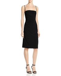 Laundry By Shelli Segal Cutout Back Slip Dress Black