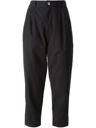 Marc By Marc Jacobs Cropped High Waist Trousers