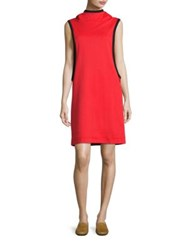 Y 3 Colorblock Sleeveless Track Dress Flame Scarlet