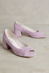 Anthropologie Jeffrey Campbell Buffy Heels Lilac