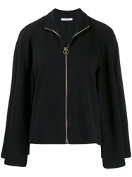 Givenchy Zipped Sweater Black