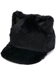 Ca4la Cat Ears Cap Black