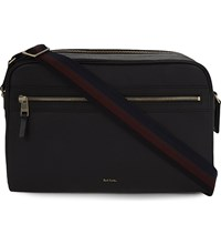 Paul Smith Accessories City Webbing Leather Cross Body Bag Black