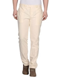 Officine Generale Casual Pants Ivory