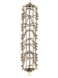 Erickson Beamon Bette Gold Plated Crystal Bracelet