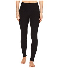 Beyond Yoga Can't Quilt You High Waisted Leggings Jet Black Women's Casual Pants