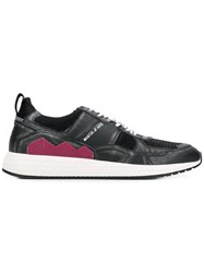Moa Master Of Arts Contrast Panel Sneakers Black
