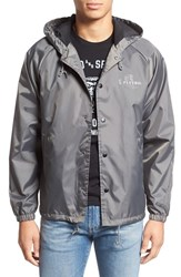 Brixton Men's 'Tanka' Water Repellent Hooded Coaches Jacket