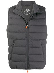 Save The Duck Mangy9 Padded Gilet Grey