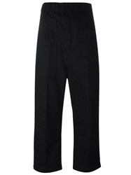 Julien David Patch Pocket Trousers Black
