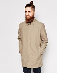 Dr. Denim Dr Denim Trench Coat Tosh Mid Length Beige