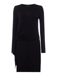 Label Lab Hitch Side Tunic Jumper Black