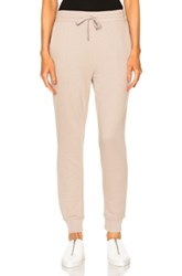 Alexander Wang T By French Terry Sweatpants In Neutrals