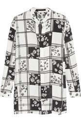 Mother Of Pearl Gibson Printed Silk Georgette Shirt