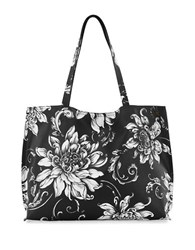 Elliott Lucca Jules Reversible Tote Black Wildflower