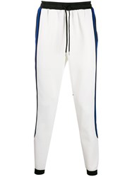 Stampd Side Stripe Trousers White
