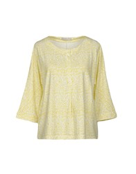 Stefanel T Shirts Yellow
