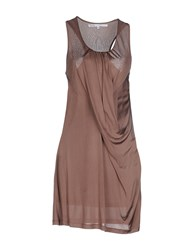 Fairly Dresses Short Dresses Women Khaki